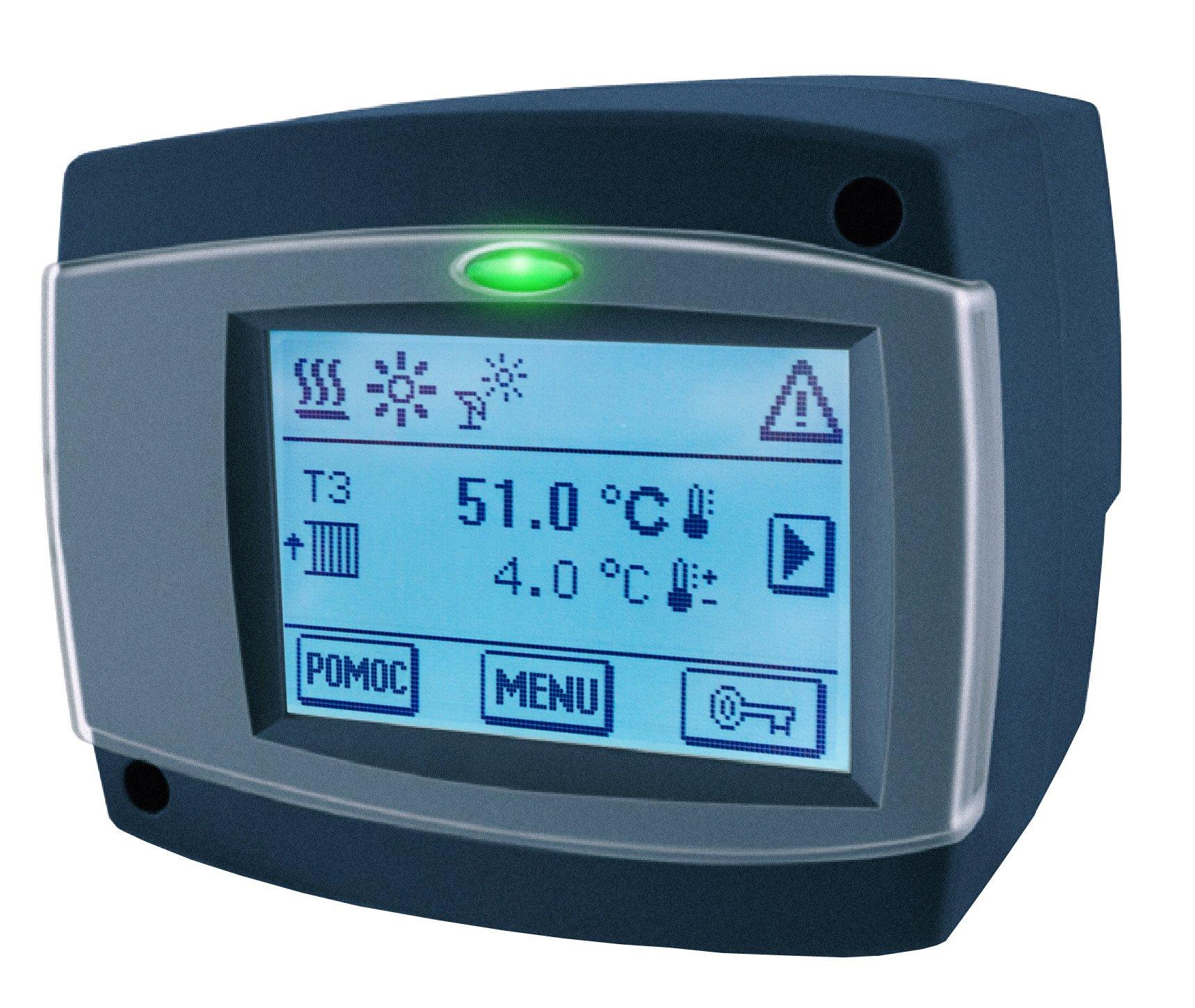 Regulator pogodowy ARC 345, 3 czujniki, 230 V AC, z funkcją sterowania pompą