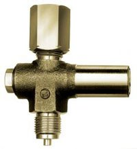 WYCOFANY Z OFERTY - Zawór zabezpieczający manometr przed zbyt wysokim ciśnieniem, 5÷25 bar