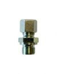 """Złączka zaciskowa, G1/8"""" x śrubunek dla rury fi4 mm, L 16 mm"""
