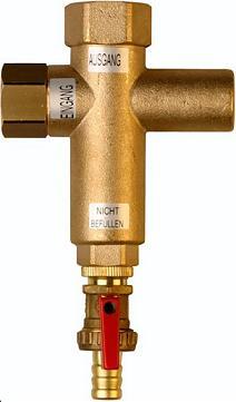 Filtr strumieniowy do instalacji grzewczych o mocy do 50 kW