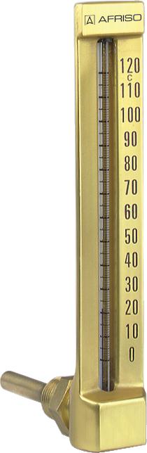 """Termometr maszynowy VMTh 150, 150 x 36 mm, 0÷160°C, L 160 mm, G1/2"""", kątowy"""