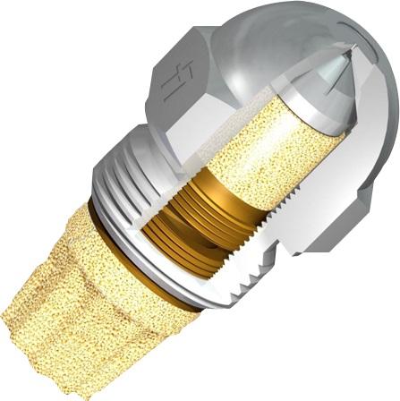 Dysza do palnika olejowego, 3,50 USgal/h, 45°, pierścieniowa