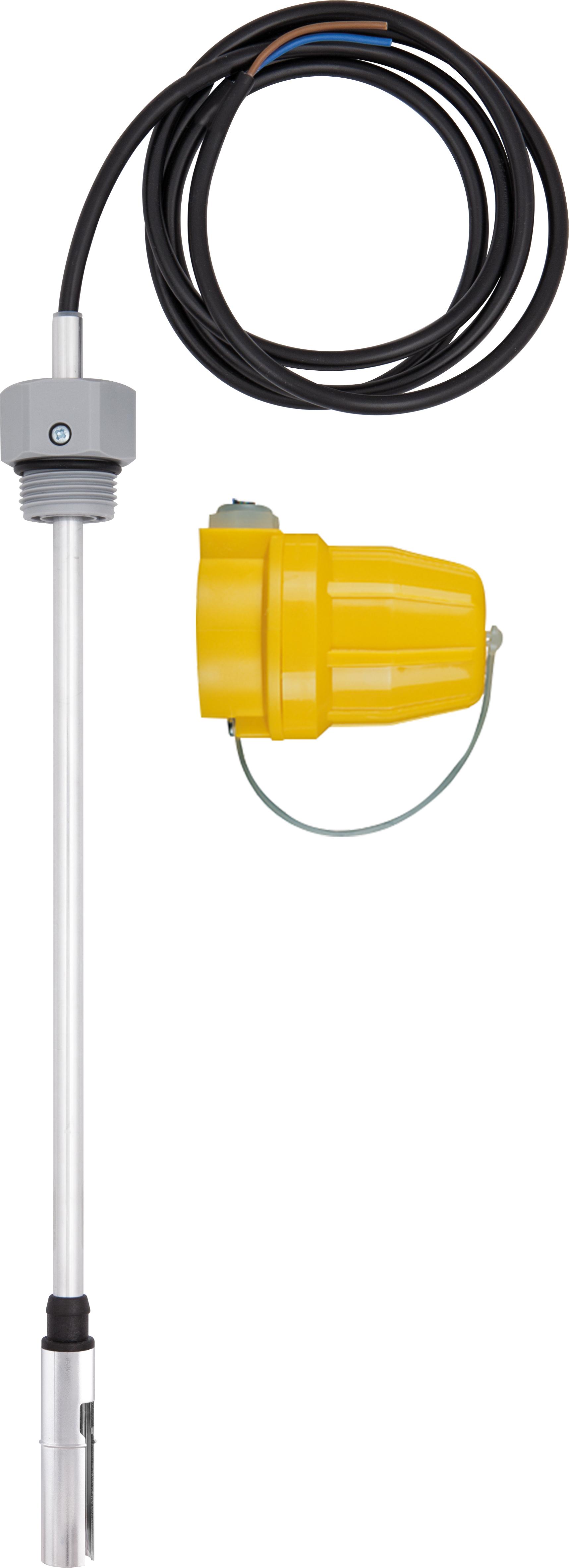 """Termistorowy czujnik wartości granicznej GWG 12 K/1, 360 mm, G1"""", kabel 1,5 m, wtyczka żółta"""