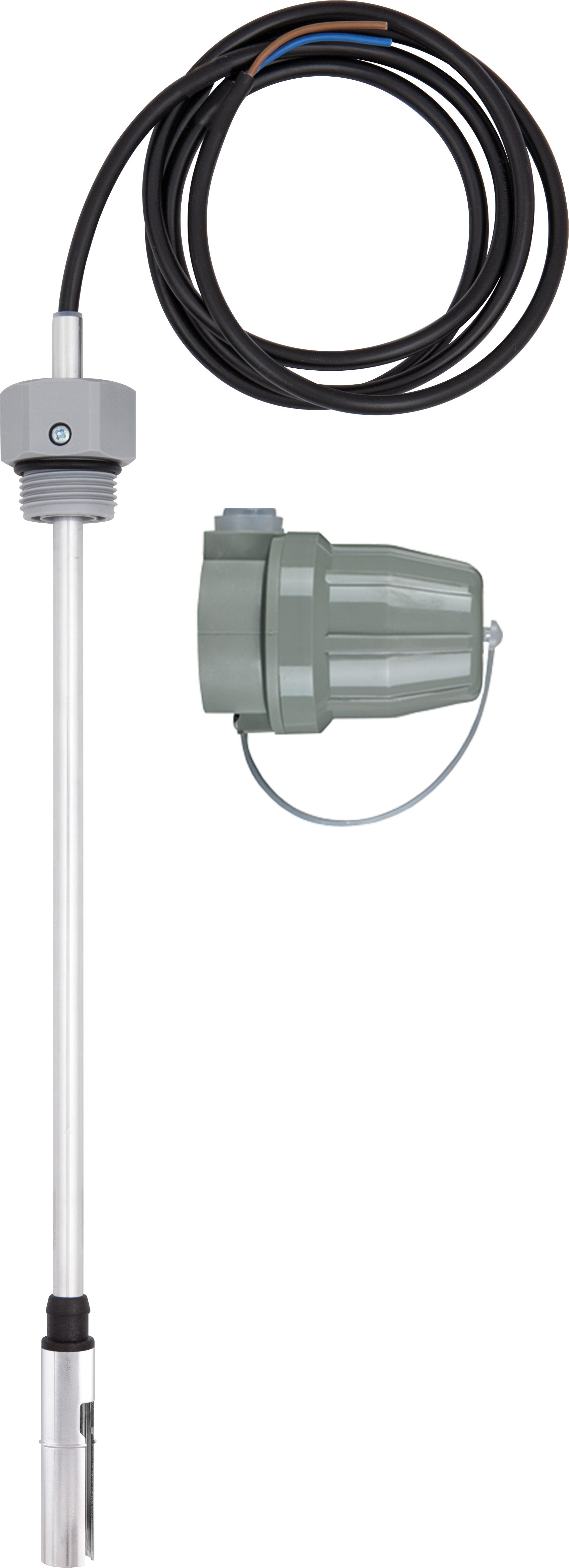 """Termistorowy czujnik wartości granicznej GWG 12 K/1, 480 mm, G1"""", kabel 1,6 m, wtyczka szara"""