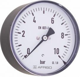 """Manometr przemysłowy RF 100 I, D211,fi100 mm, 0÷400 bar, G1/2"""" exc, kl. 1,0"""