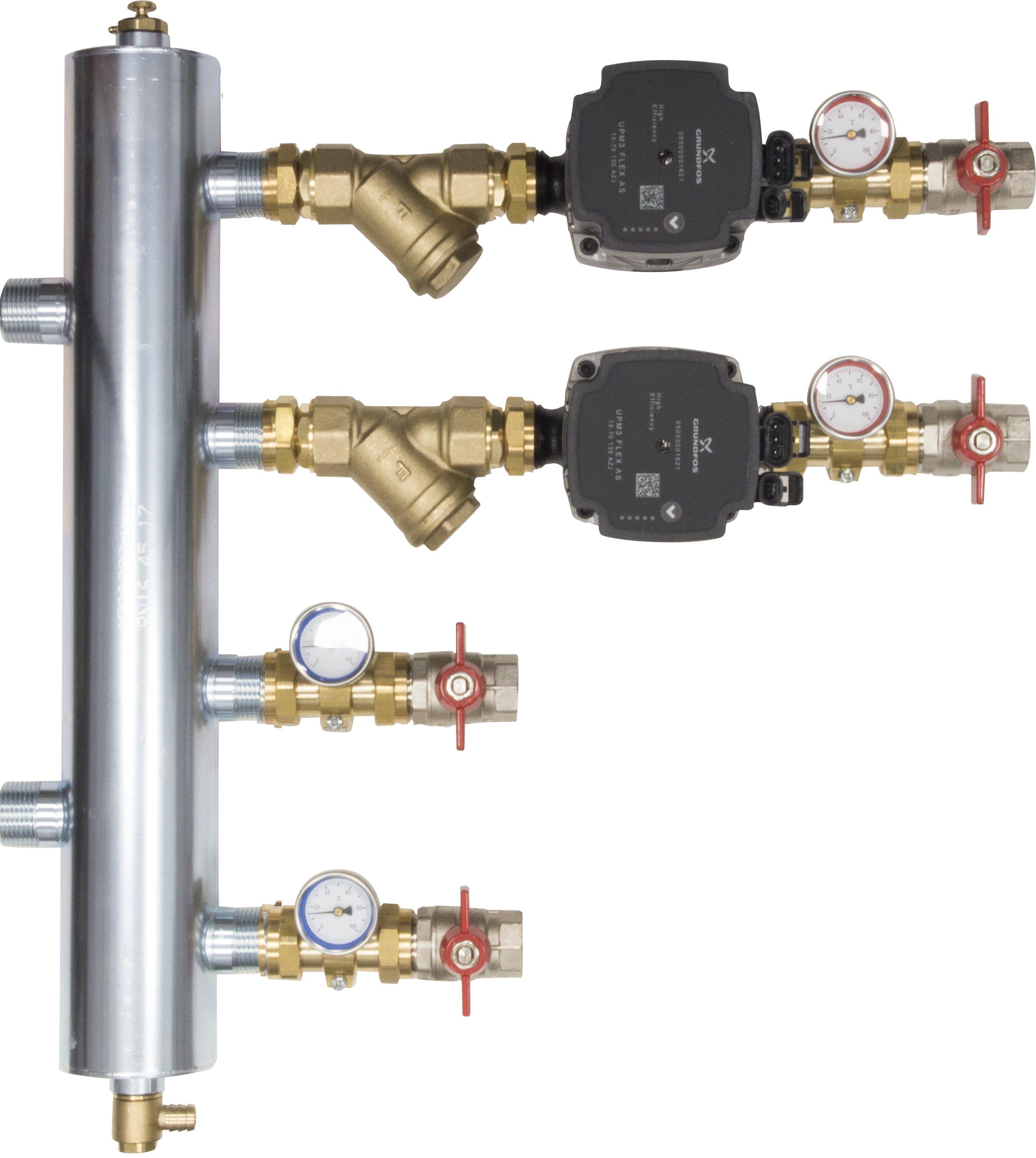 WYCOFANY Z OFERTY - Zestaw mieszający ze sprzęgłem hydraulicznym BPS 900, dwa człony bez mieszania