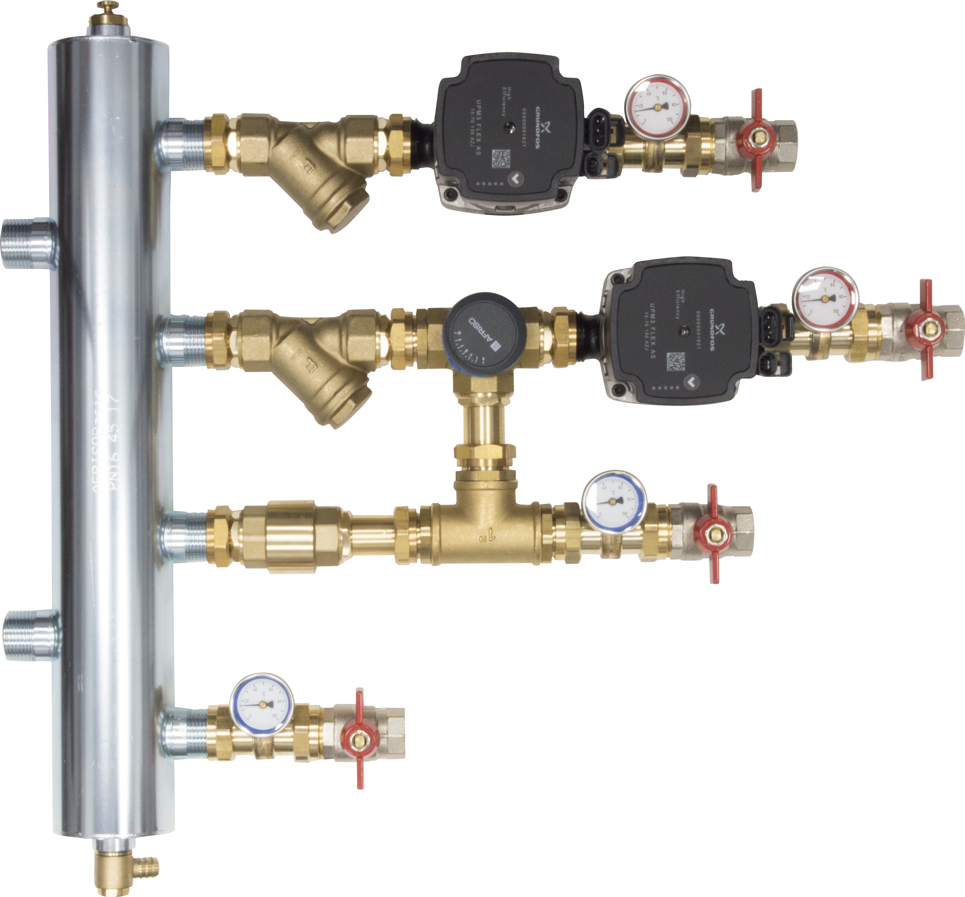 WYCOFANY Z OFERTY - Zestaw mieszający ze sprzęgłem hydraulicznym BPS, człon bez mieszania i z zaworem obrotowym ARV 362