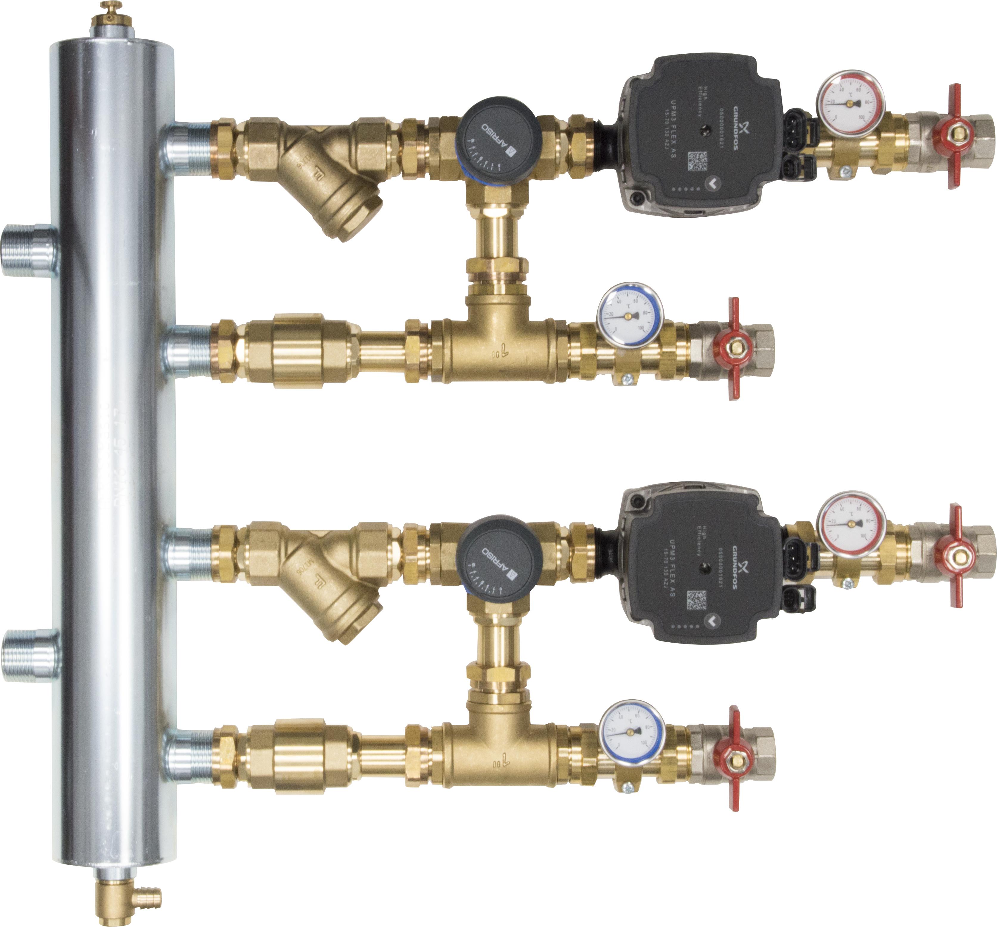 WYCOFANY Z OFERTY - Zestaw mieszający ze sprzęgłem hydraulicznym BPS, dwa człony z zaworem obrotowym ARV 362