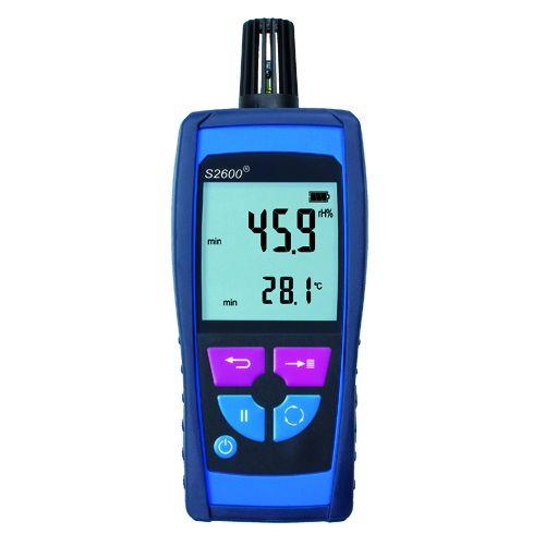 Miernik wilgotności i temperatury powietrza FT 30, czujnik zintegrowany z obudową
