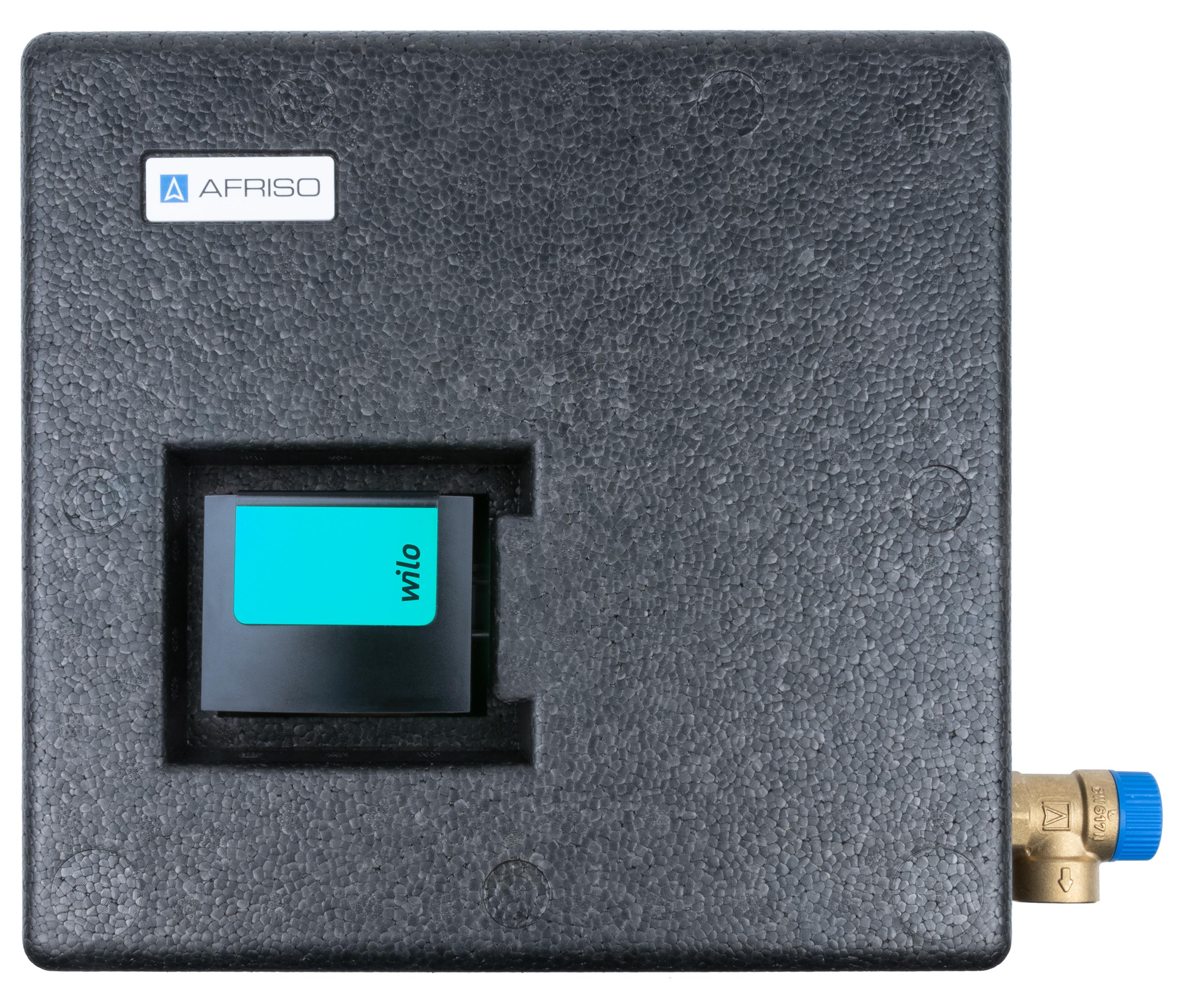 Grupa pompowa do cyrkulacji ciepłej wody użytkowej WZS 100, ATM Kvs 2,5 m3/h