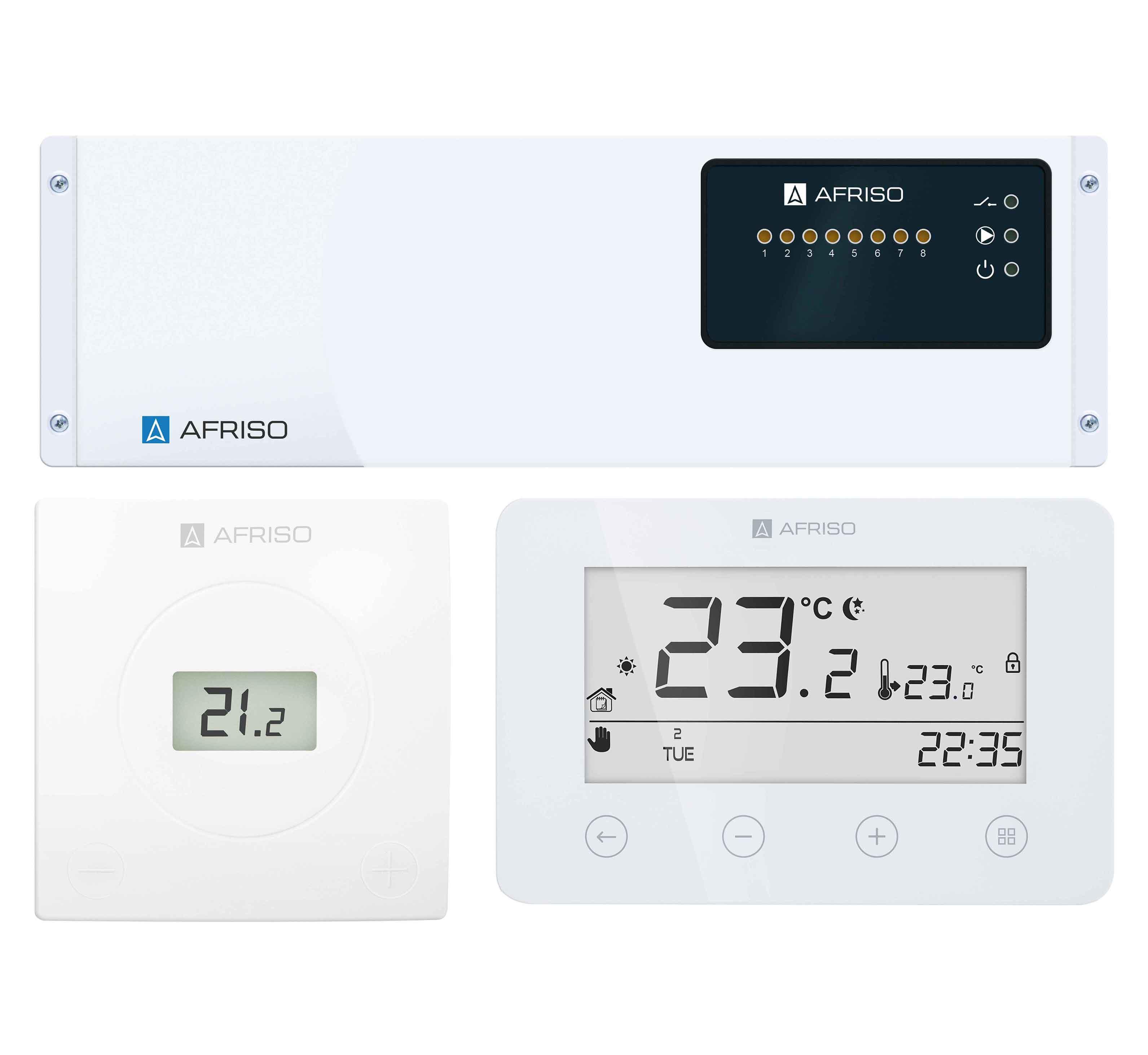 4b2 System sterowania ogrzewaniem i chłodzeniem płaszczyznowym FloorControl